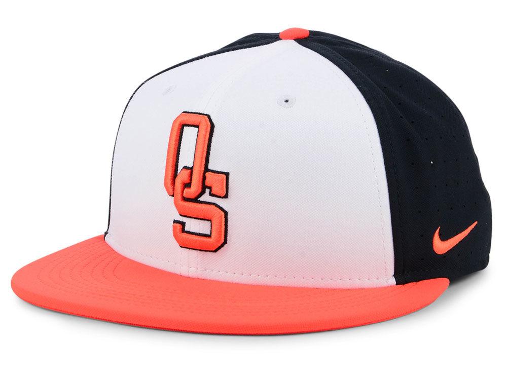 cd57e316bd0 Oklahoma State Cowboys Nike NCAA Aerobill True Fitted Baseball Cap ...