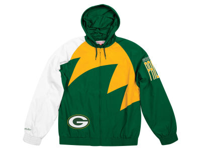 Green Bay Packers Mitchell & Ness NFL Men's Shark Tooth Jacket