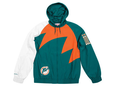 Miami Dolphins Mitchell & Ness NFL Men's Shark Tooth Jacket