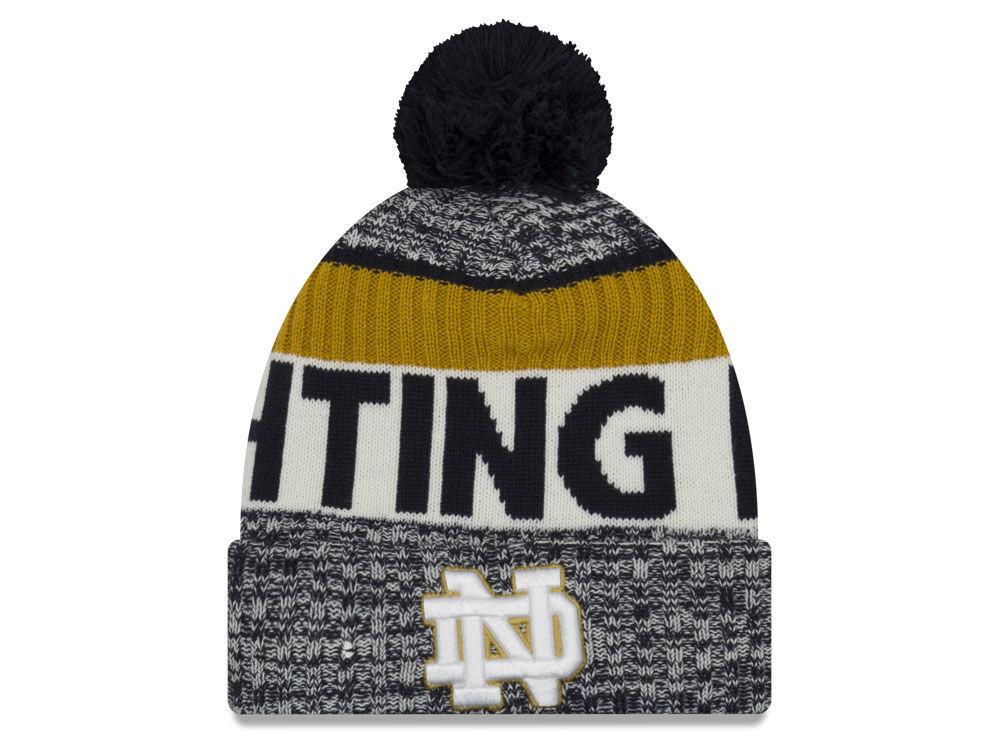 Notre Dame Fighting Irish New Era 2018 NCAA Sport Knit  73fec93fd04f