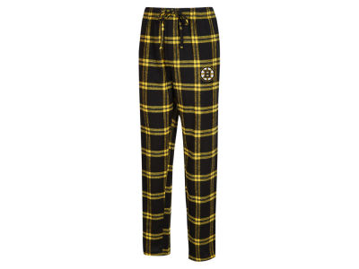 Boston Bruins Concept Sports NHL Men's Homestretch Flannel PJ Pant