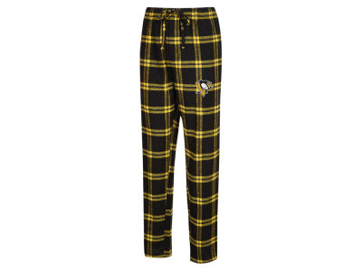 Pittsburgh Penguins Concept Sports NHL Men's Homestretch Flannel PJ Pant