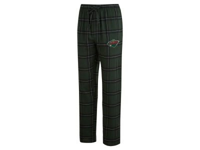 Minnesota Wild Concept Sports NHL Men's Homestretch Flannel PJ Pant