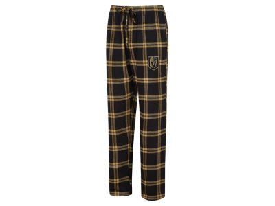 Vegas Golden Knights Concept Sports NHL Men's Homestretch Flannel PJ Pant