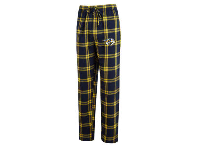 Nashville Predators Concept Sports NHL Men's Homestretch Flannel PJ Pant