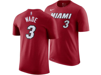 Miami Heat Dwyane Wade Nike NBA Youth Statement Name and Number T-shirt