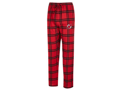 New Jersey Devils Concept Sports NHL Men's Homestretch Flannel PJ Pant