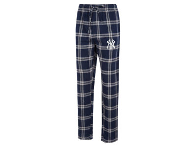 New York Yankees Concept Sports MLB Men's Homestretch Flannel Pajama Pant