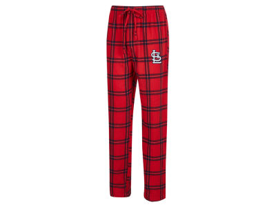 St. Louis Cardinals Concept Sports MLB Men's Homestretch Flannel Pajama Pant
