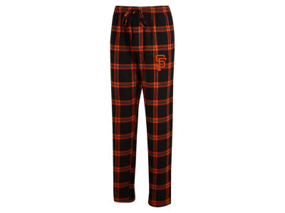 San Francisco Giants Concept Sports MLB Men's Homestretch Flannel Pajama Pant