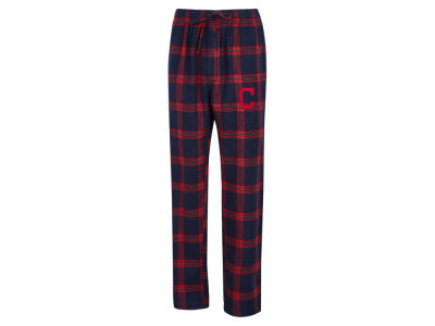 Cleveland Indians Concept Sports MLB Men's Homestretch Flannel Pajama Pant