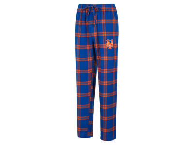 New York Mets Concept Sports MLB Men's Homestretch Flannel Pajama Pant