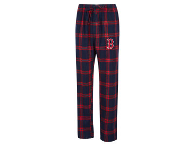 Boston Red Sox Concept Sports MLB Men's Homestretch Flannel Pajama Pant