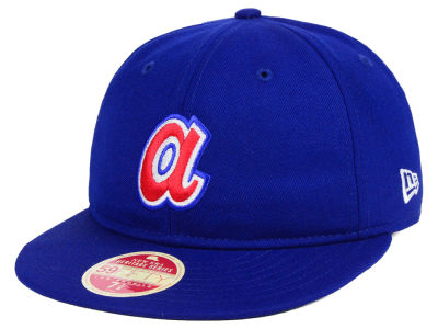 Atlanta Braves New Era MLB Heritage Retro Classic 59FIFTY Cap