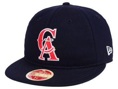 Los Angeles Angels New Era MLB Heritage Retro Classic 59FIFTY Cap