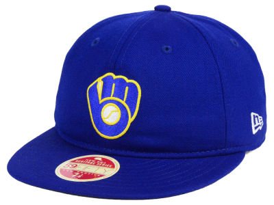 Milwaukee Brewers New Era MLB Heritage Retro Classic 59FIFTY Cap