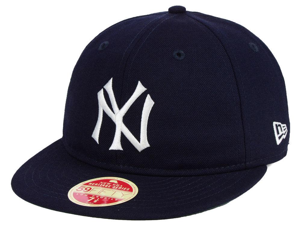New York Yankees New Era MLB Heritage Retro Classic 59FIFTY Cap ... 4cfa16e2b