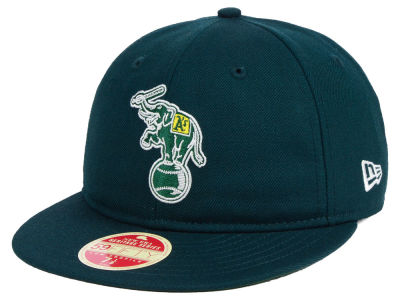 Oakland Athletics New Era MLB Heritage Retro Classic 59FIFTY Cap