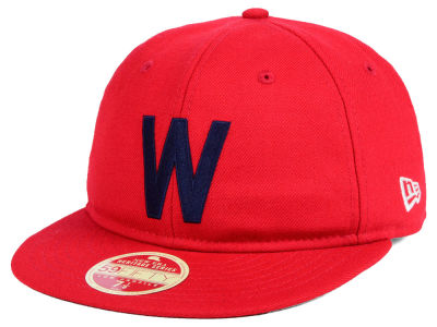 Washington Senators New Era MLB Heritage Retro Classic 59FIFTY Cap