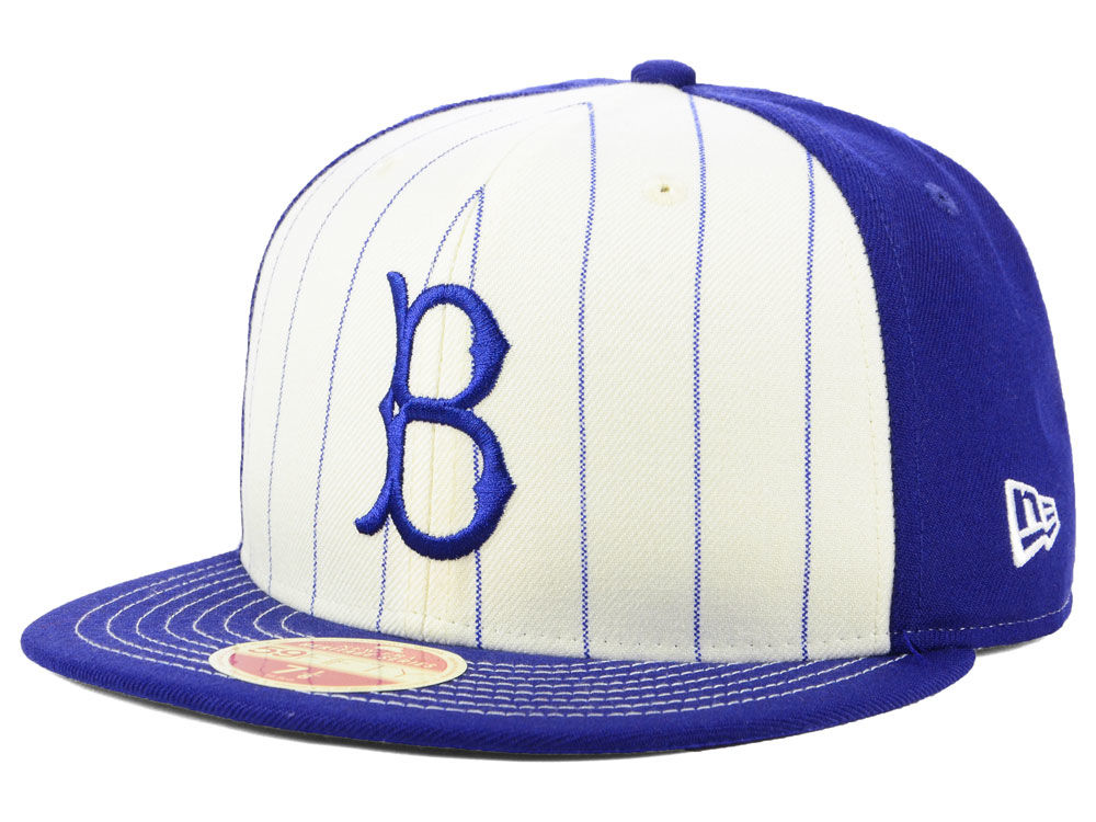 Brooklyn Dodgers New Era MLB Vintage Front 59FIFTY Cap  2dc45da026cd