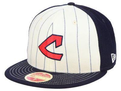 Cleveland Indians New Era MLB Vintage Front 59FIFTY Cap