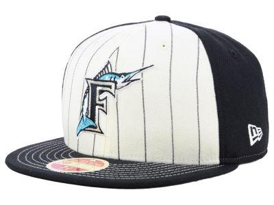 e1b7bc21e8b Florida Marlins New Era MLB Vintage Front 59FIFTY Cap