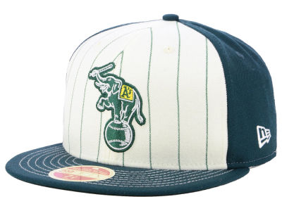 Oakland Athletics New Era MLB Vintage Front 59FIFTY Cap