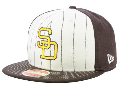 San Diego Padres New Era MLB Vintage Front 59FIFTY Cap
