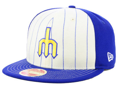 Seattle Mariners New Era MLB Vintage Front 59FIFTY Cap