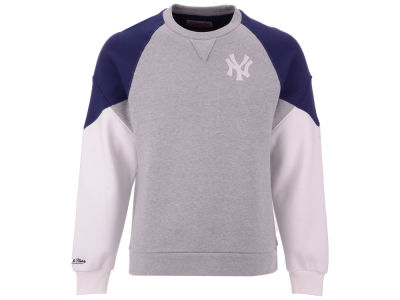 New York Yankees MLB Men's Trading Block Crew Sweatshirt