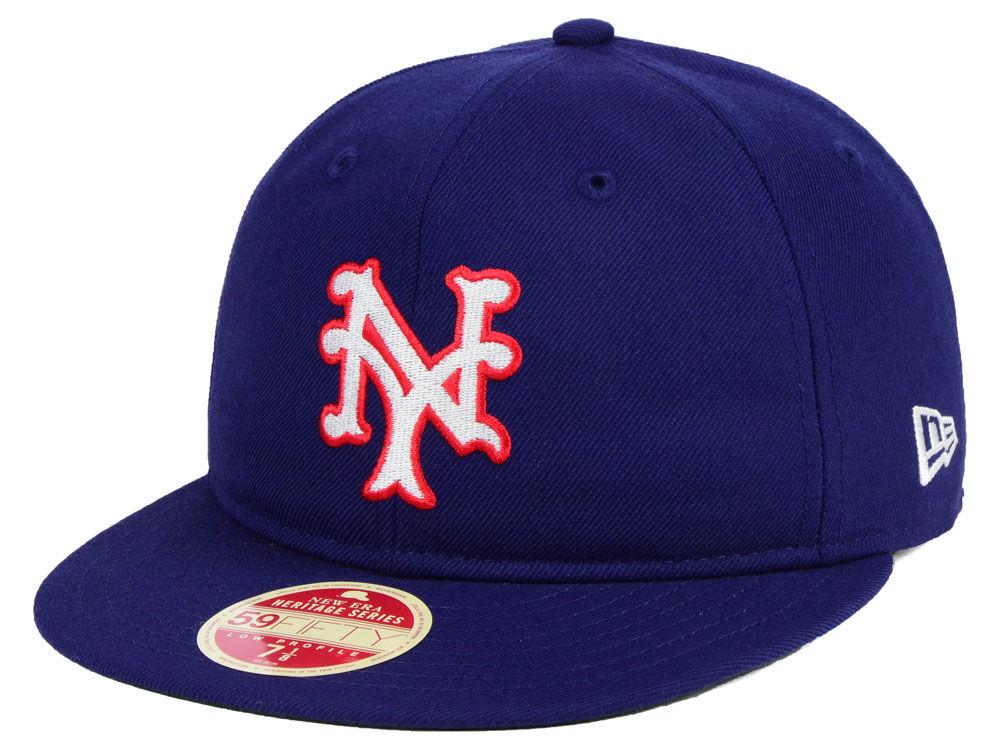 New York Giants New Era MLB Heritage Retro Classic 59FIFTY Cap ... a7aef8472c4
