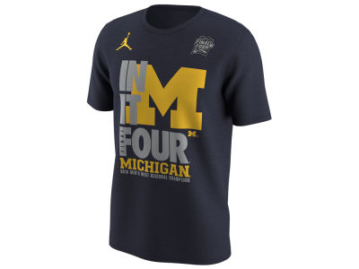 Michigan Wolverines Nike 2018 NCAA Men's Final 4 Bound Locker Room T-Shirt