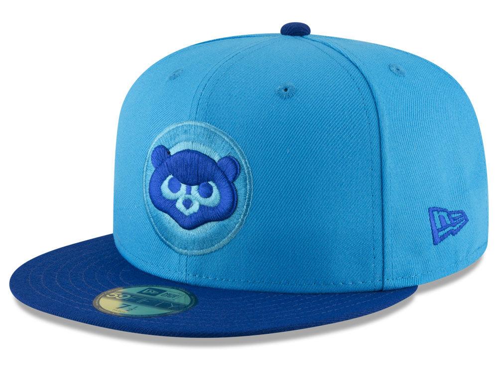 Chicago Cubs New Era 2018 MLB Players Weekend 59FIFTY Cap  d55222bcdb75