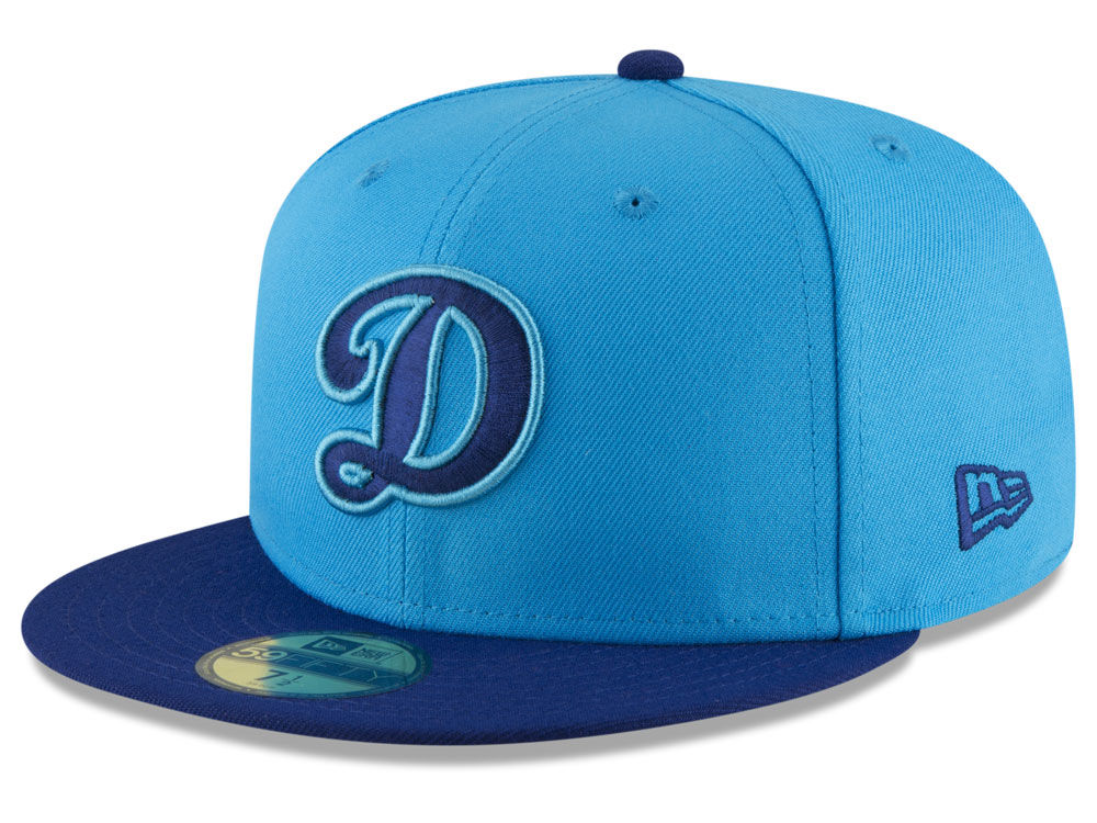 Los Angeles Dodgers New Era 2018 MLB Players Weekend 59FIFTY Cap ... 6e85dbea86a