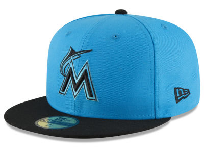 Miami Marlins New Era 2018 MLB Players Weekend 59FIFTY Cap