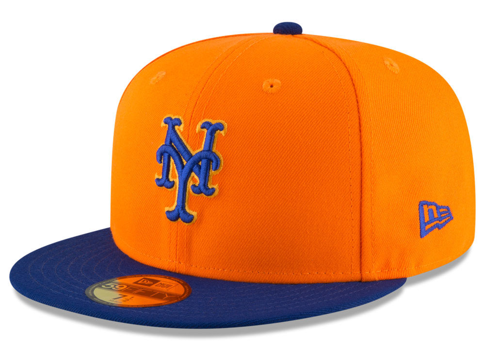 New York Mets New Era 2018 MLB Players Weekend 59FIFTY Cap  37b2923e774