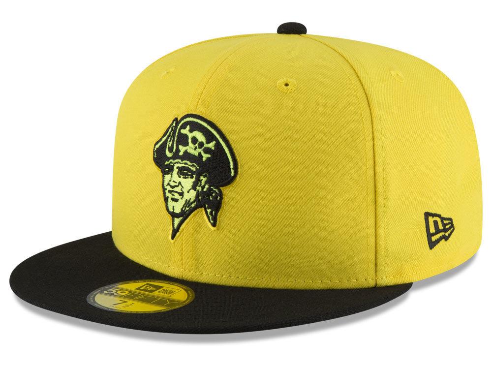 6217377da Pittsburgh Pirates New Era 2018 MLB Players Weekend 59FIFTY Cap ...