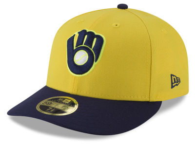 Milwaukee Brewers New Era 2018 MLB Players Weekend Low Profile 59FIFTY Cap