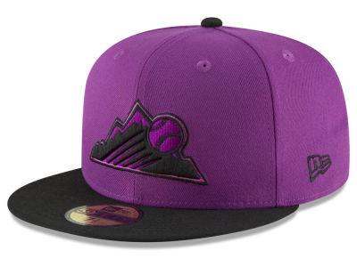 Colorado Rockies New Era 2018 MLB Kids Players Weekend 59FIFTY Cap