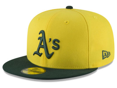Oakland Athletics New Era 2018 MLB Kids Players Weekend 59FIFTY Cap