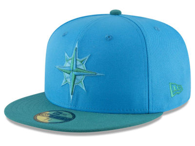Seattle Mariners New Era 2018 MLB Kids Players Weekend 59FIFTY Cap