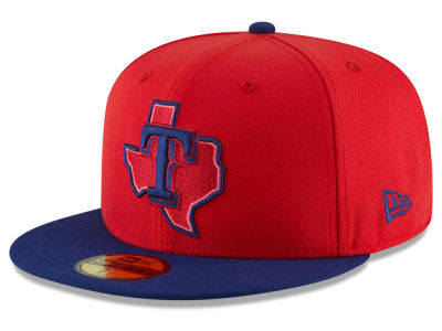 Texas Rangers New Era 2018 MLB Kids Players Weekend 59FIFTY Cap