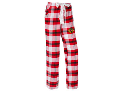 Chicago Blackhawks Concept Sports NHL Women's Headway Flannel Pajama Pant