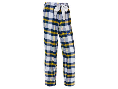 St. Louis Blues Concept Sports NHL Women's Headway Flannel Pajama Pant