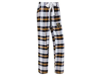Vegas Golden Knights Concept Sports NHL Women's Headway Flannel Pajama Pant