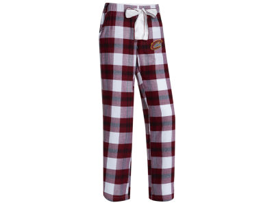 Cleveland Cavaliers Concept Sports NBA Women's Headway Flannel Pajama Pant