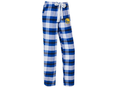 Golden State Warriors Concept Sports NBA Women's Headway Flannel Pajama Pant