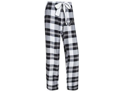 San Antonio Spurs Concept Sports NBA Women's Headway Flannel Pajama Pant