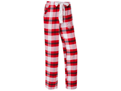 Houston Rockets Concept Sports NBA Women's Headway Flannel Pajama Pant