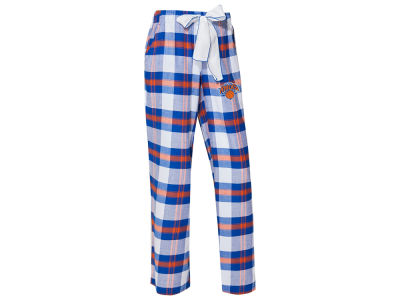 New York Knicks Concept Sports NBA Women's Headway Flannel Pajama Pant